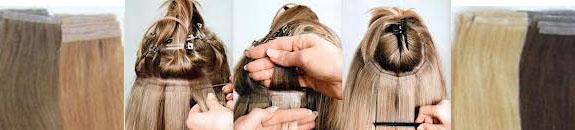 La máscara para los cabellos para el crecimiento muy intenso de los cabello